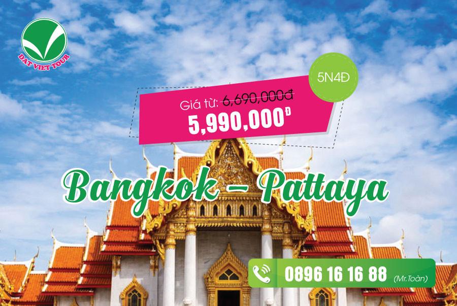 Tour Thái Lan khuyến mãi